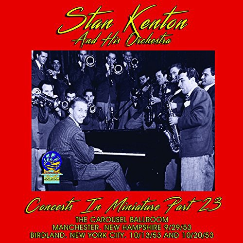 STAN KENTON - Concerts In Miniature - Volume 23 cover