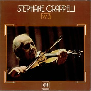 STÉPHANE GRAPPELLI - 1973 cover
