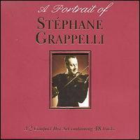 STÉPHANE GRAPPELLI - A Portrait of Stéphane Grappelli cover