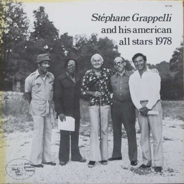 STÉPHANE GRAPPELLI - And His American All Stars 1978 (aka Sweet Chorus) cover