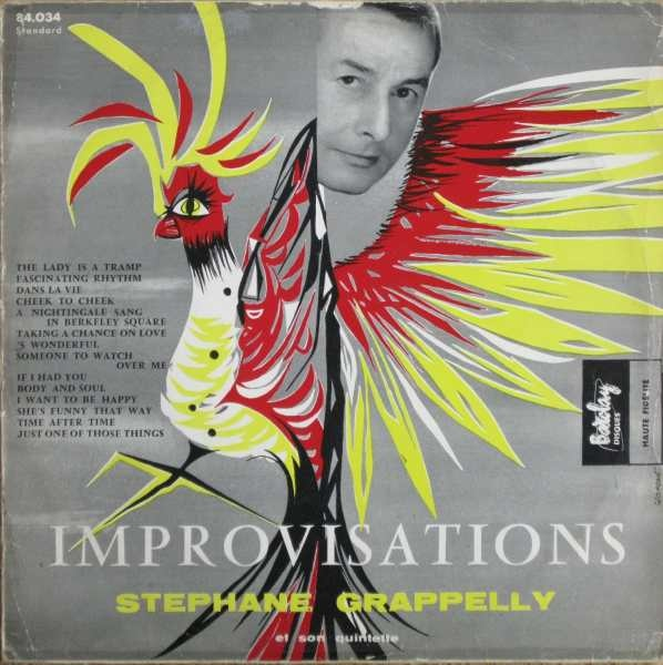 STÉPHANE GRAPPELLI - Jazz in Paris: Improvisations cover