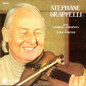 STÉPHANE GRAPPELLI - Joue George Gershwin Et Cole Porter cover