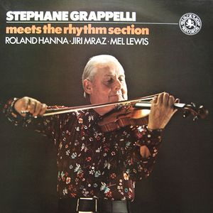 STÉPHANE GRAPPELLI - Meets The Rhythm Section cover