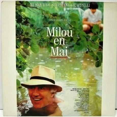 STÉPHANE GRAPPELLI - Milou En Mai (Bande Originale Du Film) cover
