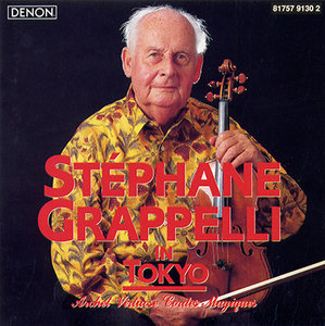 STÉPHANE GRAPPELLI - Stephane Grappelli in Tokyo cover