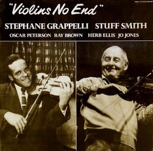 STÉPHANE GRAPPELLI - Stephane Grappelli , Stuff Smith ‎: Violins No End cover