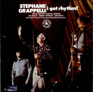 STÉPHANE GRAPPELLI - Stephane Grappelli With The Hot Club Of London : I Got Rhythm! cover