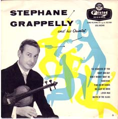 STÉPHANE GRAPPELLI - Stephane Grappelly And His Quintet cover