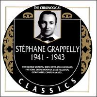 STÉPHANE GRAPPELLI - The Chronological Classics: Stéphane Grappelly 1941-1943 cover