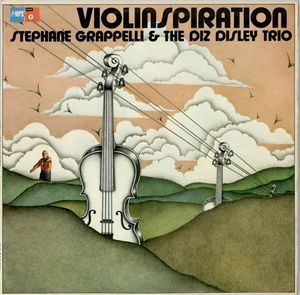 STÉPHANE GRAPPELLI - Violinspiration (aka Shades Of Django) cover