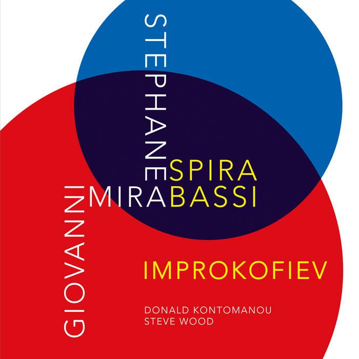 STÉPHANE SPIRA - Stéphane Spira & Giovanni Mirabassi : Improkofiev cover