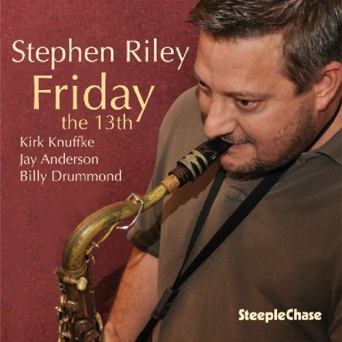 STEPHEN RILEY - Friday The 13th cover