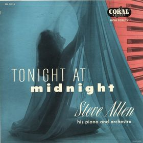 STEVE ALLEN - Tonight at Midnight cover