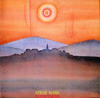 STEVE KHAN - Eyewitness cover