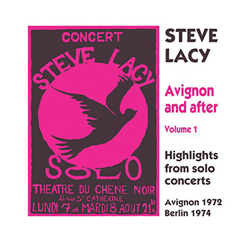 STEVE LACY - Avignon And After Volume 1 cover
