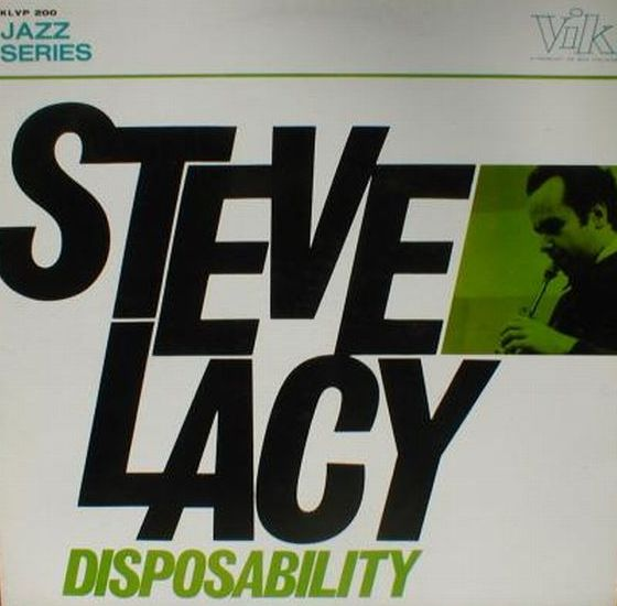 STEVE LACY - Disposability cover
