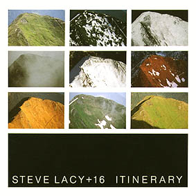 STEVE LACY - Itinerary cover