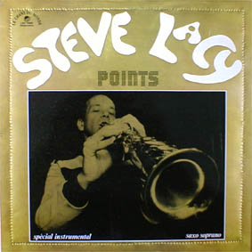 STEVE LACY - Points cover