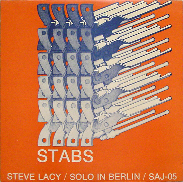 STEVE LACY - Stabs / Solo In Berlin cover