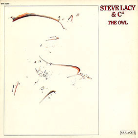 STEVE LACY - The Owl cover