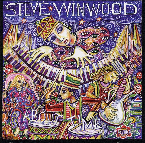 STEVE WINWOOD - About Time cover