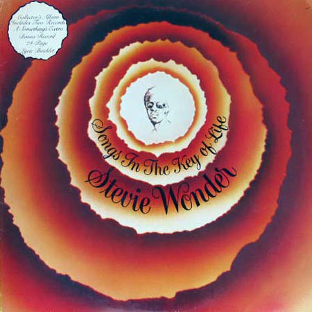 STEVIE WONDER - Songs in the Key of Life cover