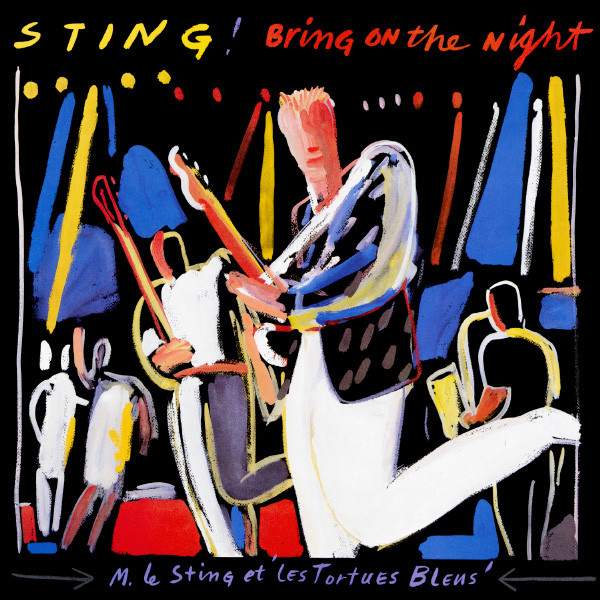 STING - Bring On the Night cover