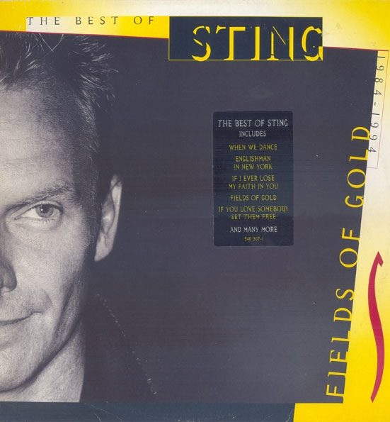 STING - Fields of Gold: The Best of Sting 1984-1994 cover