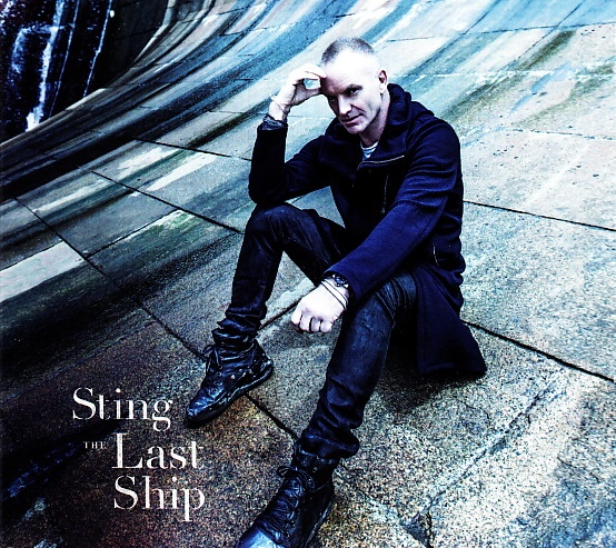 STING - The Last Ship cover