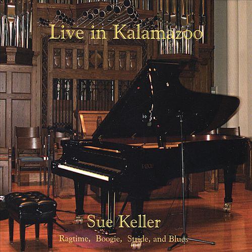 SUE KELLER - Live in Kalamazoo cover