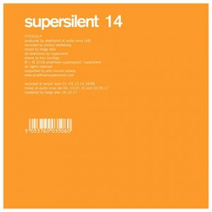 SUPERSILENT - 14 cover