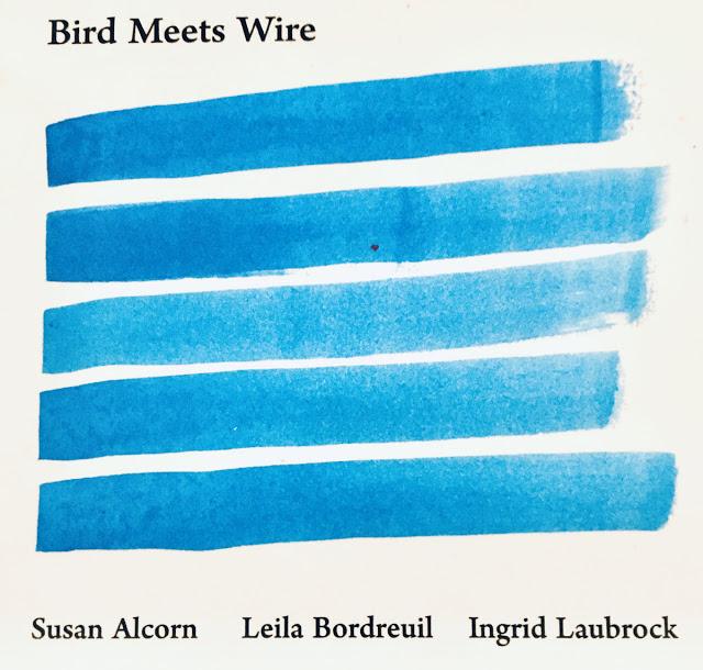 SUSAN ALCORN - Susan Alcorn / Leila Bordreuil / Ingrid Laubrock : Bird Meets Wire cover