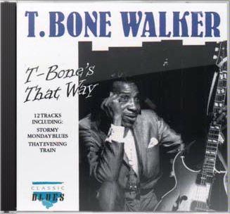T-BONE WALKER - T-Bone's That Way cover