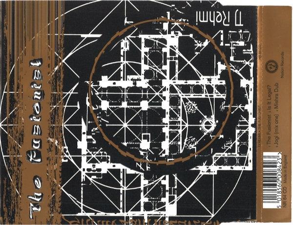 TJ REHMI - Fusionist cover