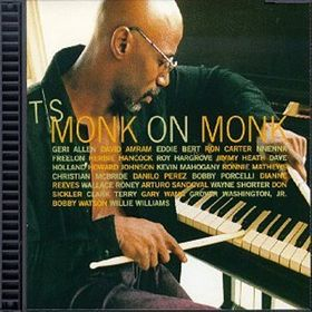 T. S. MONK - Monk On Monk cover