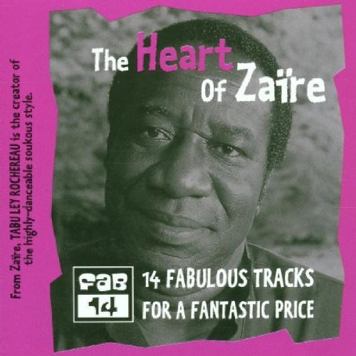 TABU LEY ROCHEREAU - Heart Of Zaire cover