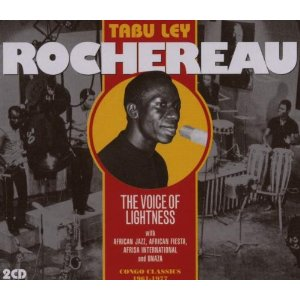 TABU LEY ROCHEREAU - The Voice of Lightness: Congo Classics 1961-1977 cover