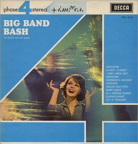 TED HEATH - Big Band Bash cover