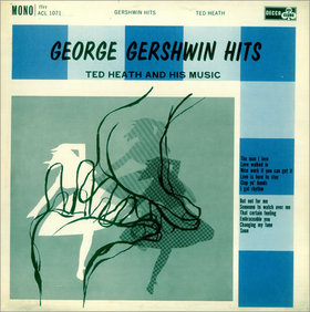 TED HEATH - George Gershwin Hits cover