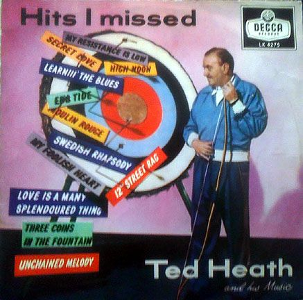 TED HEATH - Hits I Missed cover