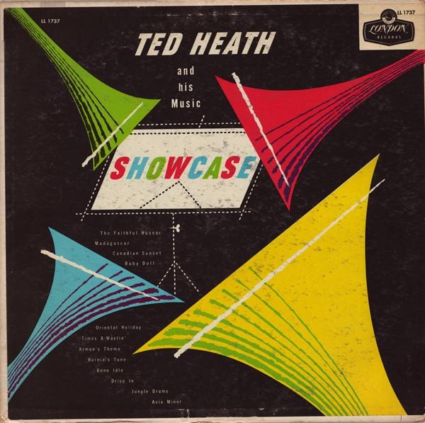 TED HEATH - Showcase cover
