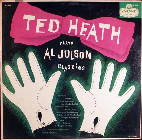 TED HEATH - Ted Heath Plays Al Jolson Classics cover
