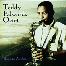 TEDDY EDWARDS - Back to Avalon cover