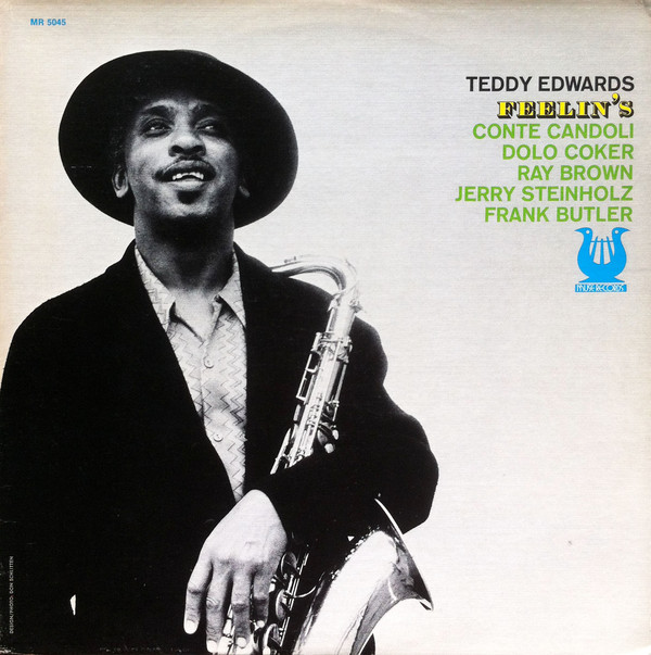 TEDDY EDWARDS - Feelin's cover