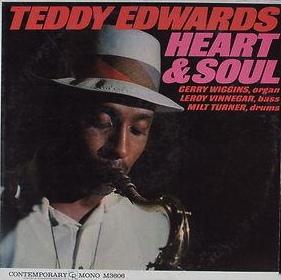 TEDDY EDWARDS - Heart & Soul cover