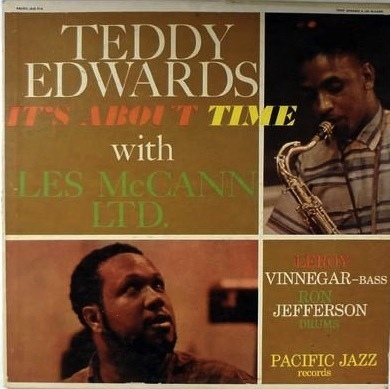 TEDDY EDWARDS - It's About Time cover