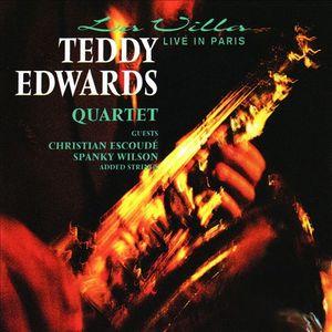 TEDDY EDWARDS - La Villa - Live In Paris cover