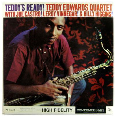 TEDDY EDWARDS - Teddy's Ready! cover