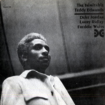 TEDDY EDWARDS - The Inimitable cover
