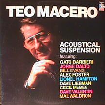 TEO MACERO - Acoustical Suspension cover
